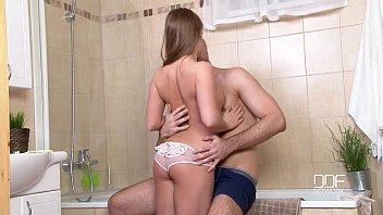 Euro Teen-Hot Russian Teen Alessandra Jane Gets her Horny Pussy Hammered porno izle