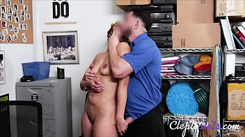 Latina Teen Caught Stealing And Punished By Cop- Lilly Hall