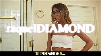 Hot Skinny Teen Stepdaughter Raquel Diamond Fucked By Black Stepdad