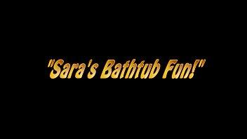 Sara Jay Fucks A Hard Cock in the Tub