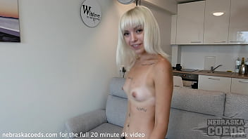 Fresh Casting Video With Spinner Blonde Estonian Girl Andromeda
