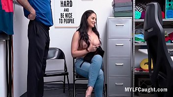 Latina MILF Gives Her Horny Cunt To Cop - Sheena Ryder