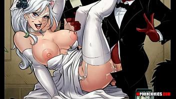 Porn Comic The Nuptials. Spider-Man. Wporncomics.com