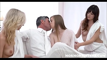 Mormon Teen & Two Sisters Have Sex With Her Husbands Dad The Church President While Husband Watches 8 min
