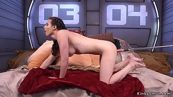 Fuckingmachines anal Babe takes machines up her tight ass