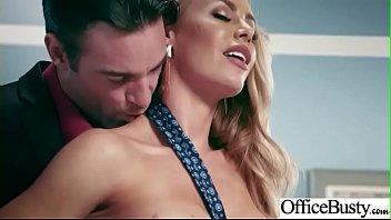 (Nicole Aniston) Hot Office Girl With Big Tits Love Hardcore Sex movie-21