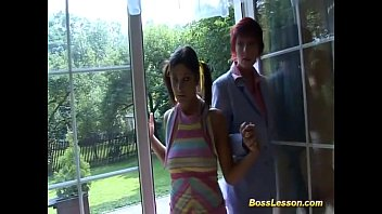 Hard fucked whores Stepmom and teen fucked by boss