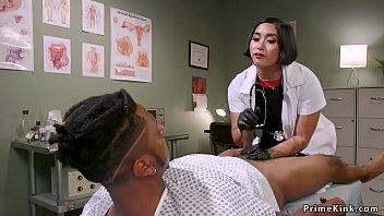 Asian Doctor Anal Fucks Black Patient