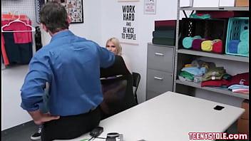 Blonde Christie Steven Fucked Hard