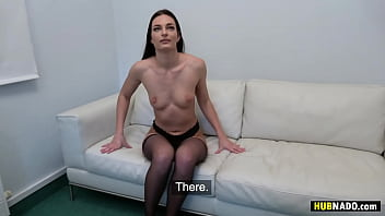 James Brossman fucks Leanne Lace at the casting couch