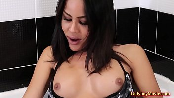 Shemale larissa milk - Milk enema for ladyboy lanta