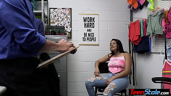 MILF LP officer Penny Barber and her partner fucking a latina teen thief