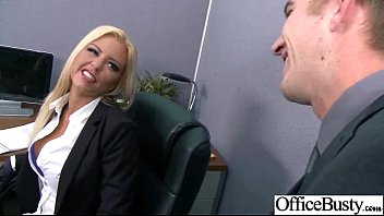 Sex In Office With Nasty Wild Busty Worker Girl vid-11