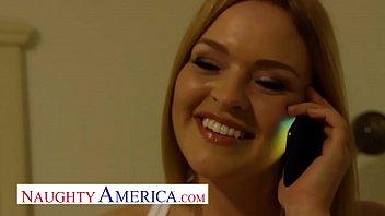 Naughty America - Krissy Lynn gets her milf wet pussy fucked thumbnail