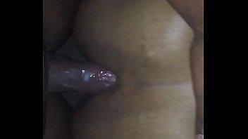Wet Creamy Ebony BBW Anal