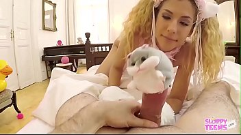 Streaming Video Shona River Pet Slave Cat Cosplay serves her Master - Intro Video - XLXX.video