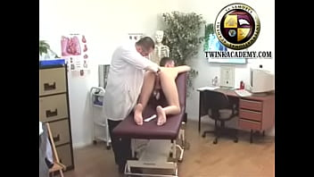 """Young British lad has his first anal exam from a doctor <span class=""""duration"""">5 min</span>"""
