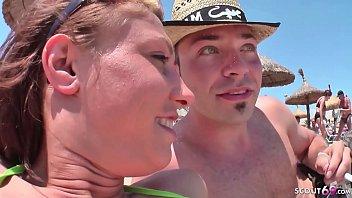 18yr old German Teen Seduce to Fuck at Beach on Ballerman 6 18 min