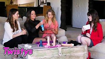 When Girls Play - (Abigail Mac, Cali Sparks) - Pleasure Party - Twistys