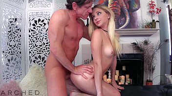 ARCHED -RILEY STAR *ARCHED BACK BEAUTY OILED AND FUCKED*