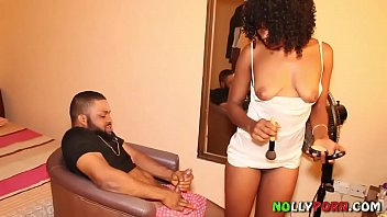 Black mother porn Makeup artist got fucked by a nollywood film producer - nollyporn