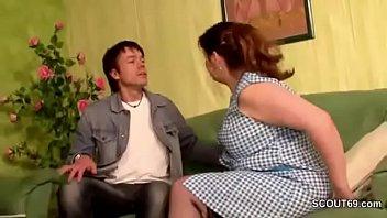Young German Men Seduce Stranger MILF to Fuck