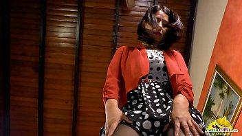 LatinChili Luxurious Tits of Anabella Pussy Toying Image