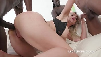 Insanely HOT Natalie Cherry Balls Deep Anal and DAP