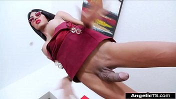 Shemale paula melos - Big cock asian shemale paula long analed