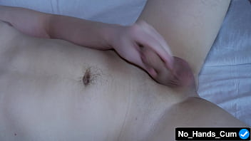 During A Strong Arousal, This Guy's Penis Can Finish Itself, Without The Help Of Hands, Lot Of Sperm 9 min