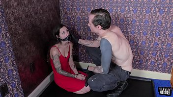 Tiny slave gets roughly face fucked 6 min