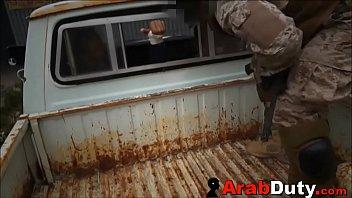 Arab Whore Sucks & Fucks Soldiers