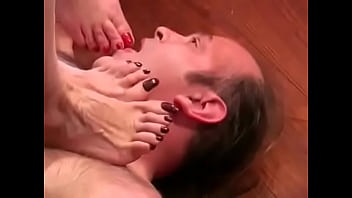Mature French Foot Domination
