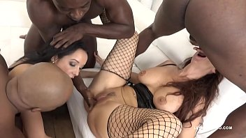 Syren gangbang auditon - Big butt sluts syren de mer francys belle get their assholes stretched