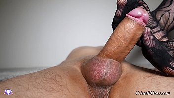 MILF Footjob and Cum Big Ass - Cristall Gloss صورة