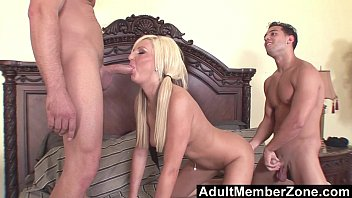 AdultMemberZone - Young Kendra Fucked by 2 Studs porno izle