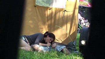 Outdoor festival amateur couple have sex secret cam | amateurcamm.com porno izle