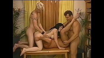 Randy studs enjoy sucking cock and fucking ass and pussy in MMMF foursome and bust cum