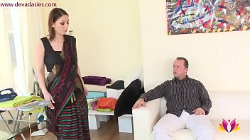 Husband anal fucks Indian maid in wife's absence 10 min