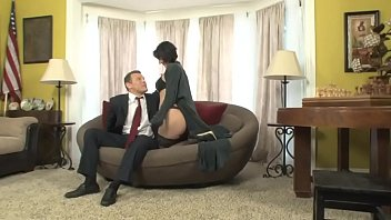 Roxanne is blackmailed by her boss's son who fucks her in the office 25 min
