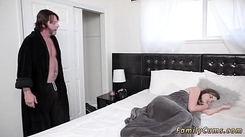 Teens orgasm together xxx Sneaky And Sleepy Step Sex