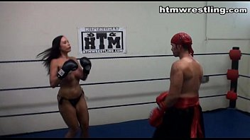 Maledom Tit Busting Fight Roleplay thumbnail