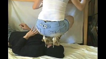 Girl in Boots Trampling Boyfriend