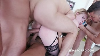 5on1 for the Big Butt PAWG Adry Berty with Double Anal & 5 swallows Vorschaubild