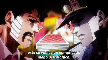 jojo's bizarre adventure stardust crusaders Egypt Arc capitulo 11 (sin censura)