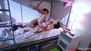 Brother Gets Molested By Sister & Then Fucks Her Teen Pussy- Violet Rain