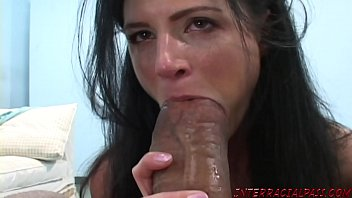 Hot milfs fuck monster dick - India summer gets excited for big black cock