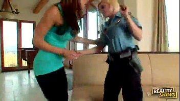 Diamond Foxxx & Lesbian Nikki Sexx Police