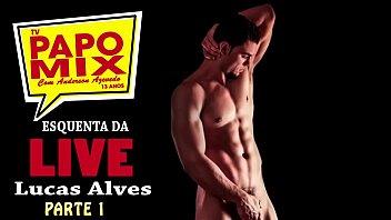 Stripper Sensação, Lucas Alves participa de live da TV PapoMix, confira o esquenta - Parte 1 - WhatsApp (11) 94779-1519