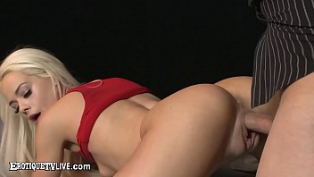 Cute Young Blonde Elsa Jean Banged By Eric John's Big Cock